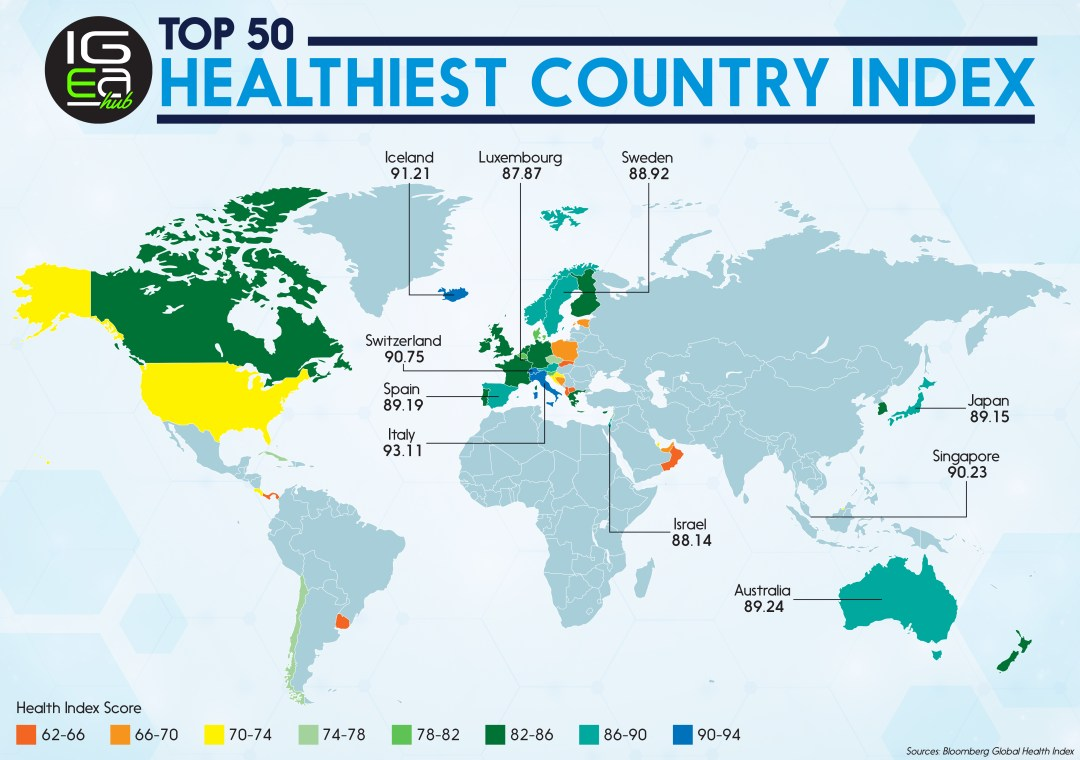 Cyprus and greece amongst the top 20 of the worlds healthiest cyprus and greece amongst the top 20 of the worlds healthiest countries of 2017 leptos estates gumiabroncs Image collections