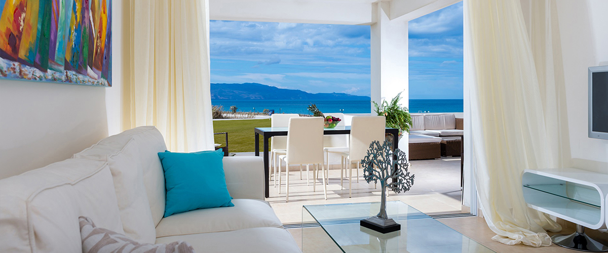 Aphrodite Beachfront 2 bedroom Apartment