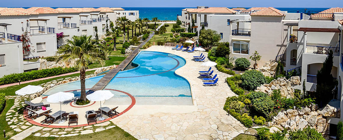 Aphrodite Beachfront 2 Комната пентхауз