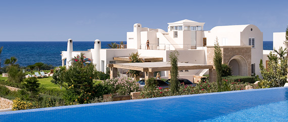 Seafront Villas in Cyprus