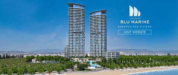 Luxury Apartments for Sale in Limassol-Blu Marine